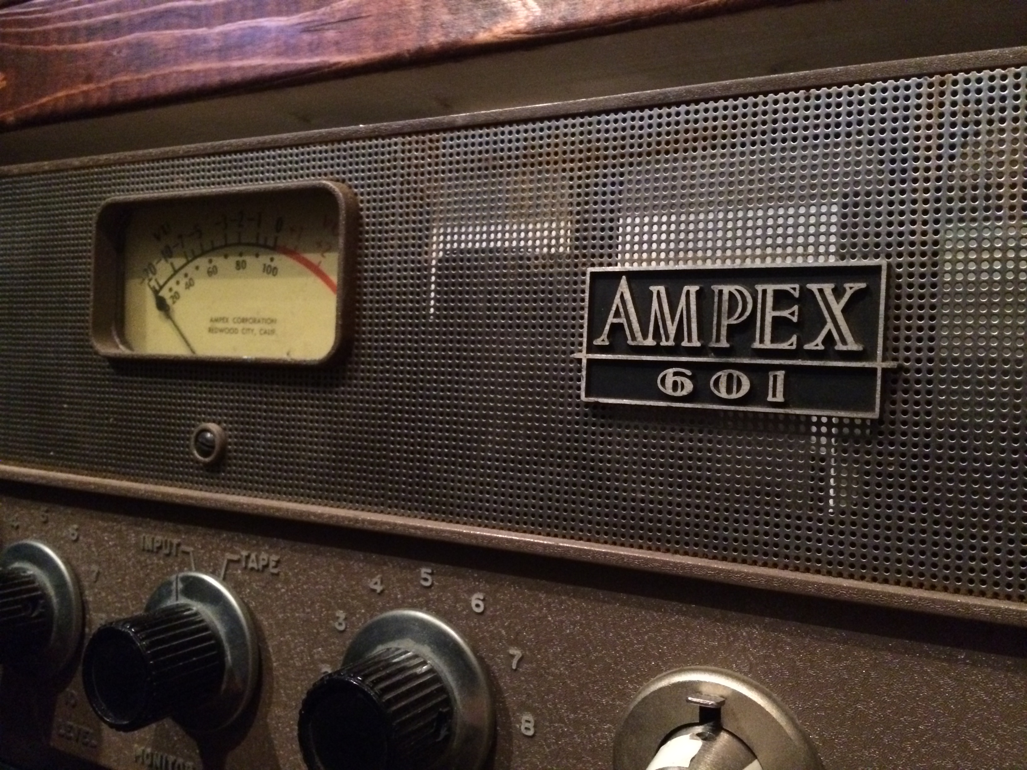 NYC Recording Studio Gear Ampex 601