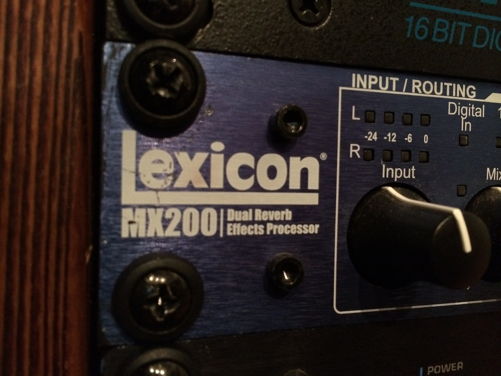 NYC Recording Studio Gear Lexicon MX200