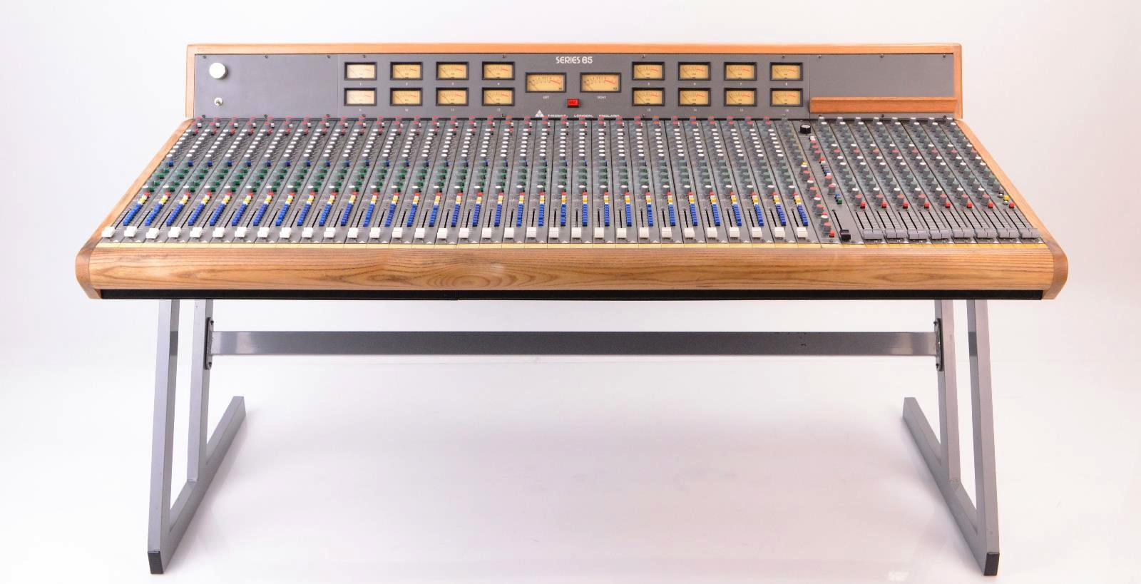 NYC Recording Studio Gear Trident 65 Analog Console