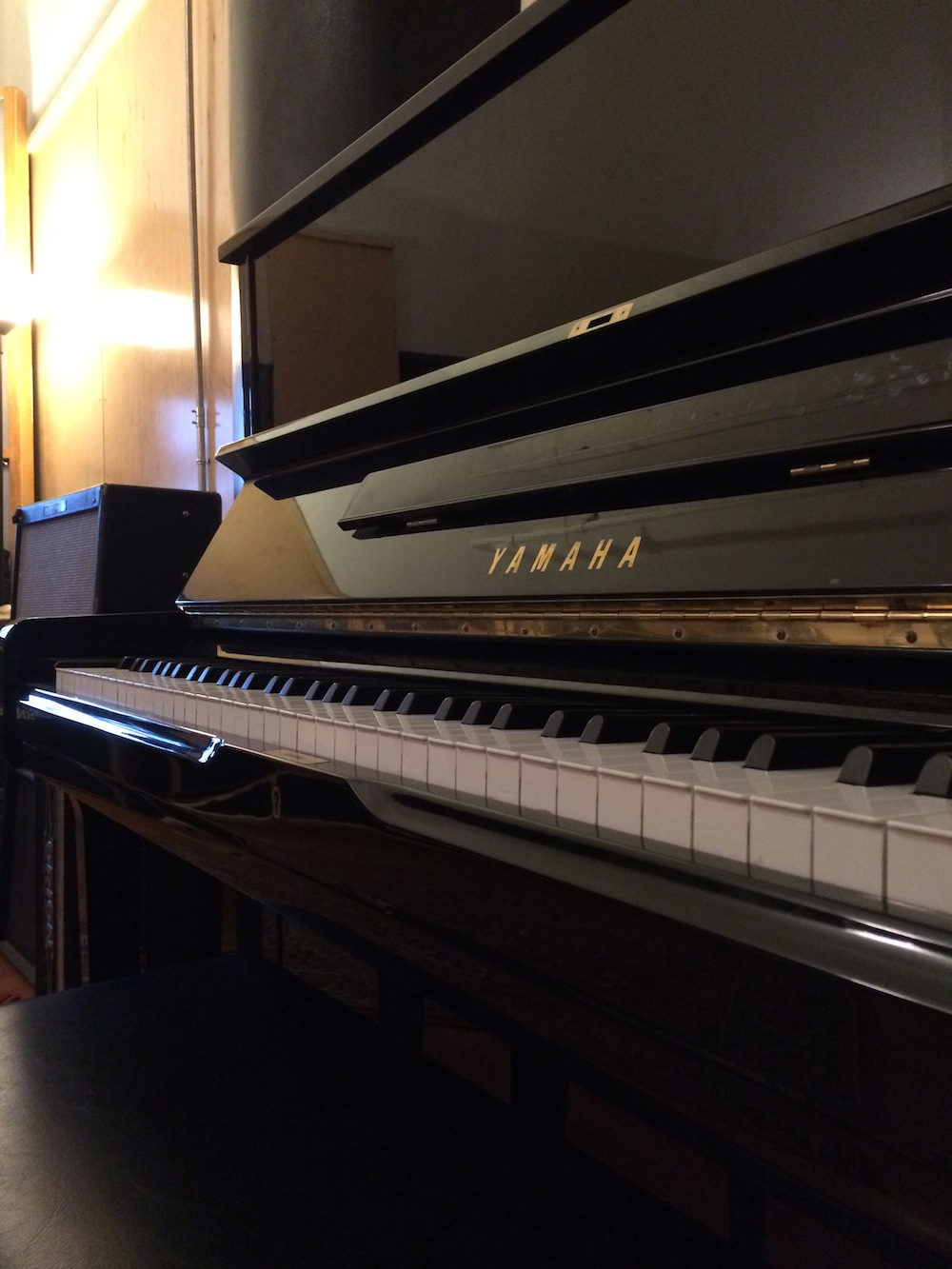NYC Recording Studio Gear Yamaha U1 Upright Piano